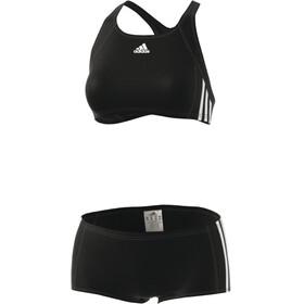adidas Essence Core 3-Stripes Bikini black/white